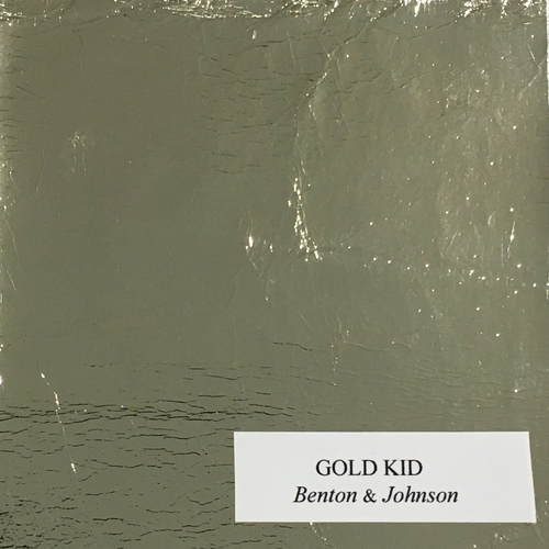 Leather square - Fine Gold kid