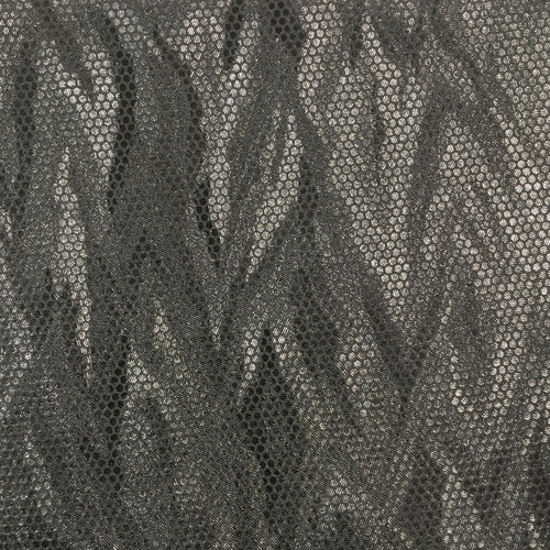 Leather square - Silver bark-pattern