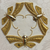 Gold Japanese Butterflies - ivory