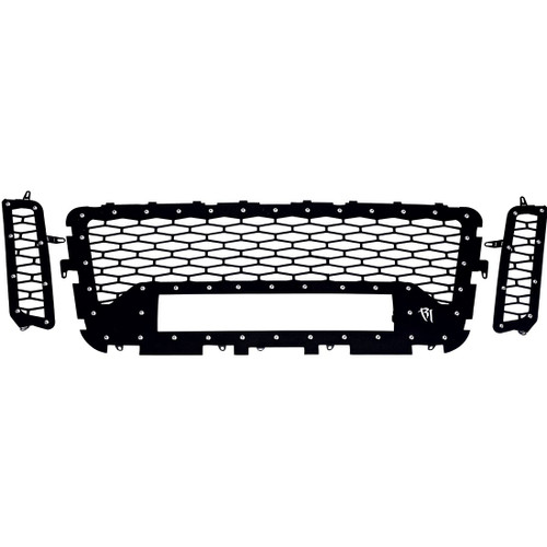 Rigid Industries Nissan Titan 2016-2017 Grille Fits 20in E-Series or 20in Radiance (No Camera) - 40549