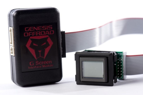 G Screen Dual Battery Monitoring System For Toyota 4Runner, Tundra and Jeep JL Genesis Offroad - 184-GS-FWMW