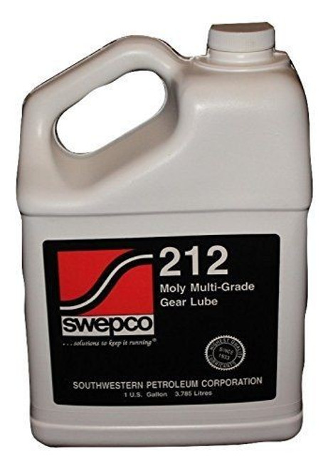 SWEPCO 212 Moly 80W140 Gear Oil 1 GAL PSC Performance Steering Components - FL-SWE212