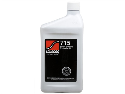 SWEPCO 715 Power Steering Fluid 1 QT PSC Performance Steering Components - FL-SWE715-GHHW