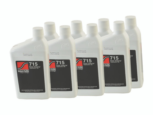 SWEPCO 715 Power Steering Fluid 8X 1 QT PSC Performance Steering Components - FL-SWE715-CASE-GHHW