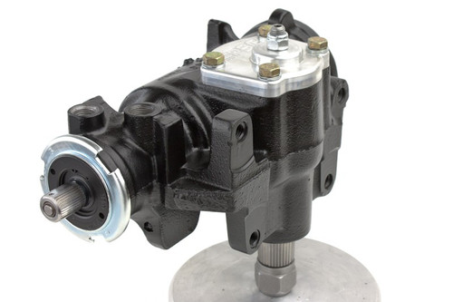 Cylinder Assist Steering Gearbox, 1968-76 GM 4WD with Crossover Steering PSC Performance Steering Components - SGX042SR