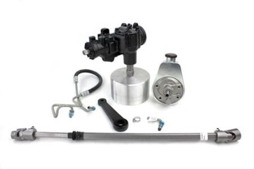 Manual-To-Power Steering Conversion Kit, 1972-75 Jeep CJ PSC Performance Steering Components - SKEC150