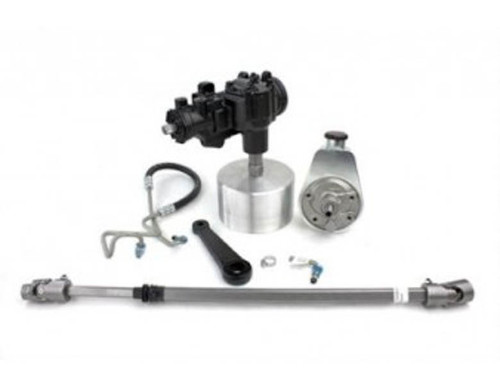 Manual-To-Power Steering Conversion Kit, 1976-86 Jeep CJ PSC Performance Steering Components - SKEC151