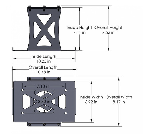 Odyssey PC 1500 Battery Mount Artec Industries - OY1501