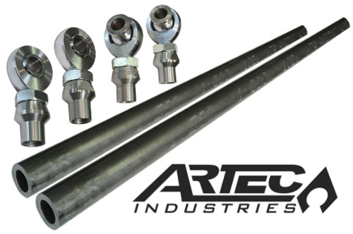 Cossover Steering Kit with 7/8 Inch Premium JMX Rod Ends Artec Industries - SK1403