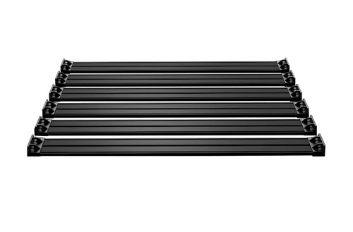 Jeep JKU 4 Door Nebo Roof Rack 6-Piece Cargo Slat Kit Black 07-18 Wrangler JKU TeraFlex - 4722060