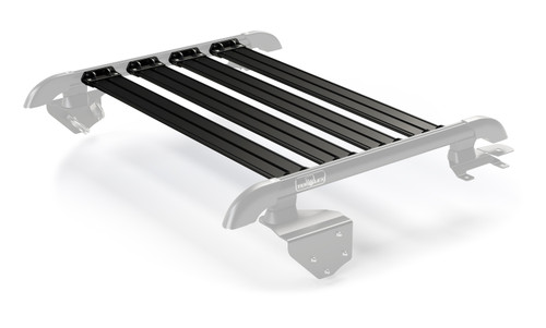 Jeep JK 2 Door Nebo Roof Rack 4-Piece Cargo Slat Kit Black 07-18 Wrangler JK TeraFlex - 4722062
