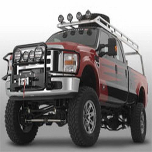 Generation II Trans4mer Grille Guard Mounts 4 Lights Polished Stainless Steel - 80148