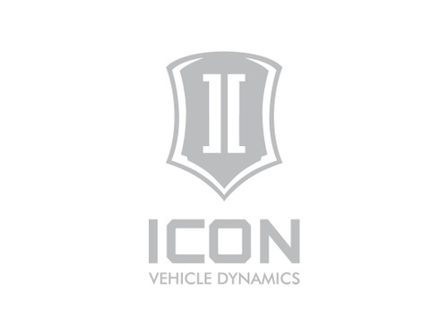 6 IN TALL ICON STACK SILVER LOGO DECAL - STICKER-STACK 6 IN S