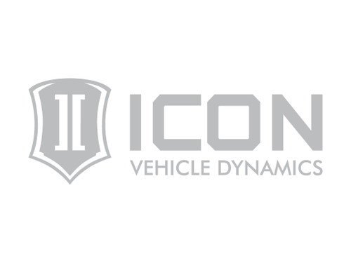 12 IN WIDE ICON STANDARD LOGO SILVER DECAL - STICKER-STD 12 IN S