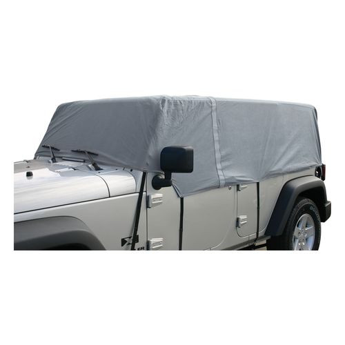 Gray Cab Only Cover for 2007-2018 Jeep JK Wrangler w/ 4-Doors - CC10609