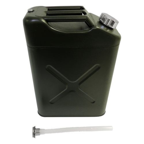 Olive Drab Jerry Can for Universal Applications, 5.4 Gallons - RT26009
