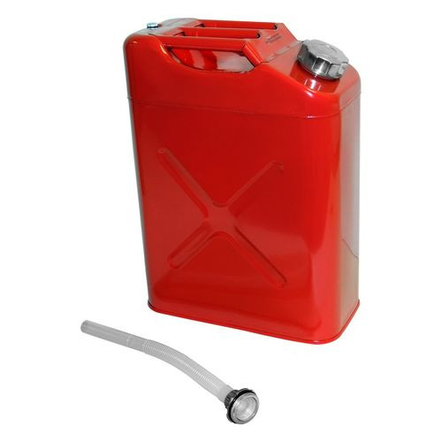 Jerry Can for Universal Applications, Red, 5.4 Gallons - RT26010