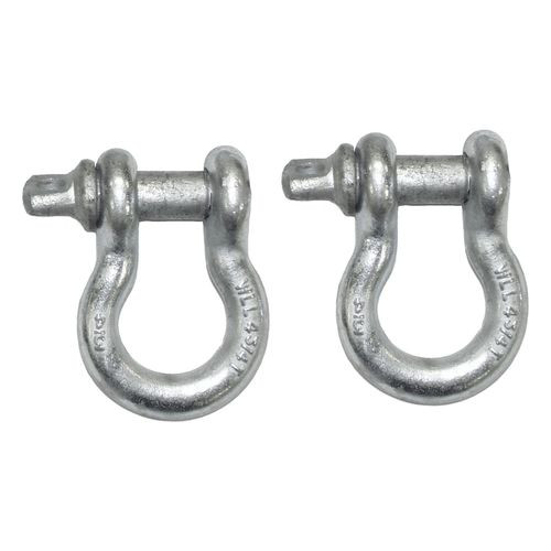 D-Ring Set, Silver, Pair - RT33005