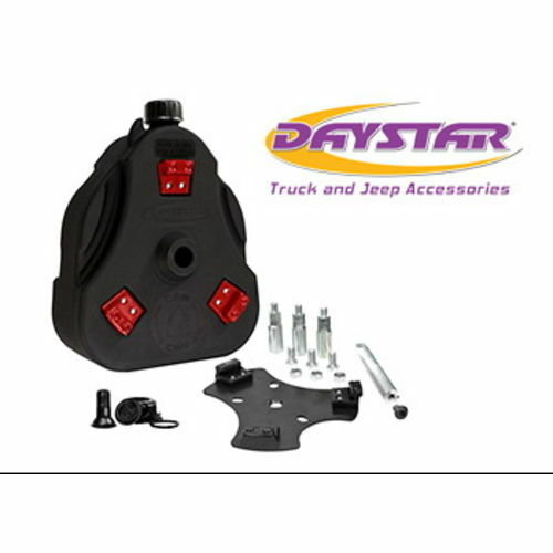 46-75 Jeep CJ Cam Can Kit Black Non-Flammable Liquids W/ Spout Daystar - KJ71035BK
