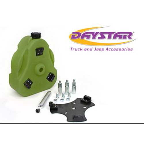 46-75 Jeep CJ Cam Can Kit Green Non-Flammable Liquids W/ Spout Daystar - KJ71035GN
