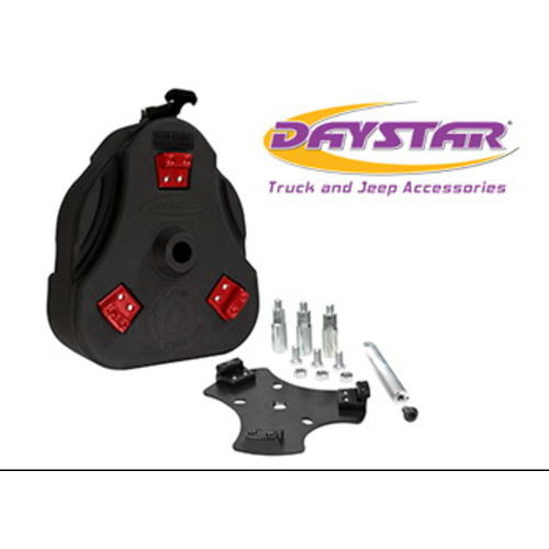 07-14 FJ Cruiser Cam Can Black Complete Kit Non-Flammable Liquids Includes Spout Daystar - KT71001BK