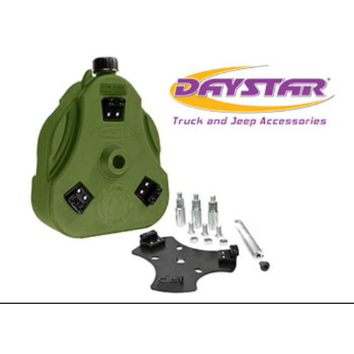 07-14 FJ Cruiser Cam Can Green Complete Kit Non-Flammable Liquids Includes Spout Daystar - KT71001GN