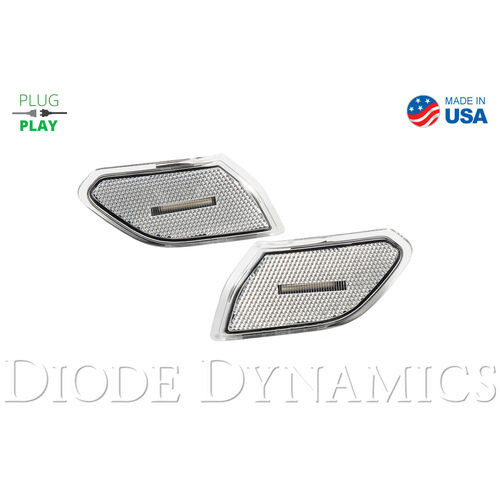 Jeep JL Sidemarkers Clear Set Diode Dynamics - DD5068