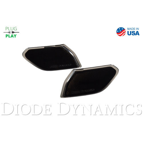 Jeep JL Sidemarkers Smoked Set Diode Dynamics - DD5070