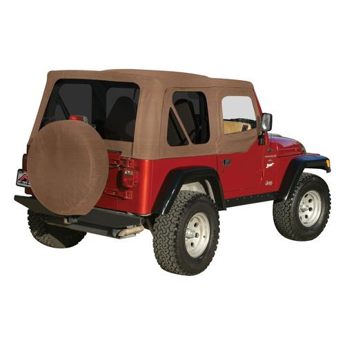 Spice OEM Replacement Soft Top for 1997-06 TJ Wrangler w/ Soft Upper Doors - RT10337T