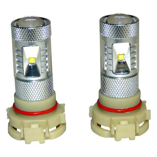 PSX24W Fog Lamp Bulb Kit for Select 10-18 Jeep JK, WK, KL, MK; Set of 2 - RT28049