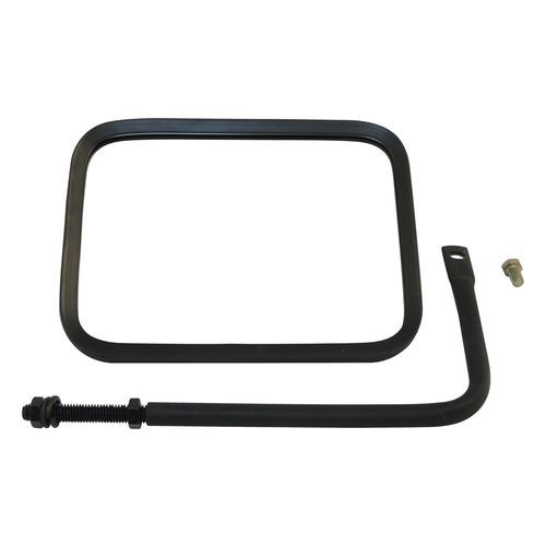 (1) Left or Right Black Textured Trail Mirror for 76-18 Jeep CJs, YJ, TJ, JK, JL - RT30004