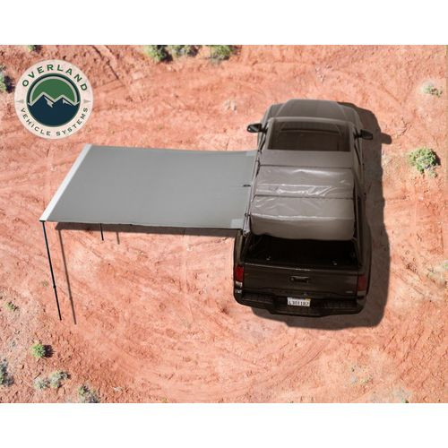 Awning 2.0-6.5 Foot With Black Cover Universal Nomadic Overland Vehicle Systems - 18049909