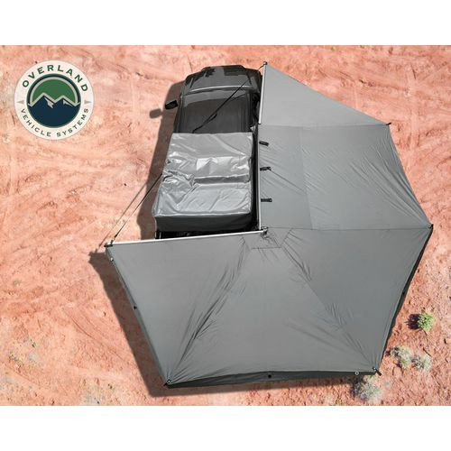 Awning 270 Degree Awning and Wall 1, 2, & 3, W/Mounting Brackets Passenger Side Nomadic Overland Vehicle Systems - 19549907