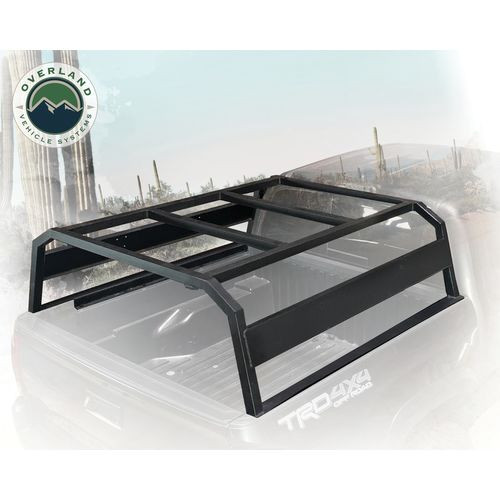 Tacoma Bed Rack Discovery Rack Tacoma Short Bed Black Overland Vehicle Systems - 22020401