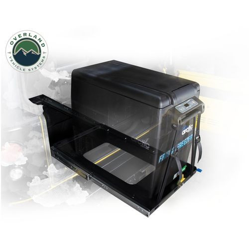 Refrigerator Tray With Slide and Tilt Small Overland Vehicle Systems - 25049801