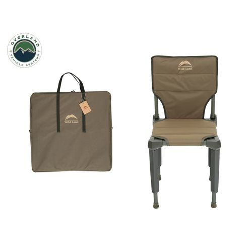 Camping Chair Tan with Storage Bag Wild Land Overland Vehicle Systems - 26029910