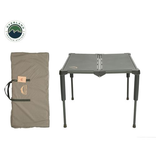 Camping Table Folding Portable Camping Table Large With Storage Case Wild Land Overland Vehicle Systems - 26049910