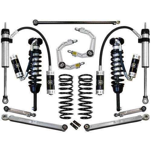 "03-09 4RUNNER/2007-2009 FJ CRUISER 0-3.5"" STAGE 6 SUSPENSION SYSTEM W BILLET UCA - K53056"