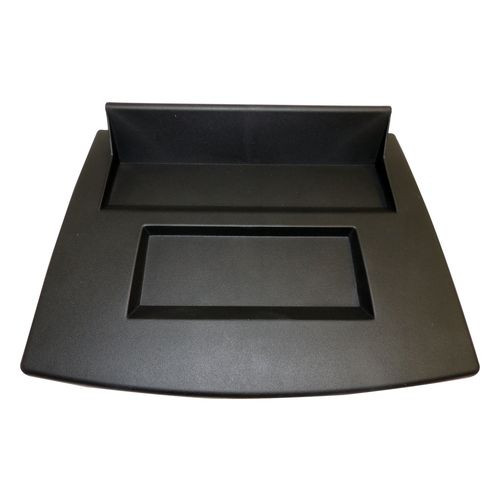 Black Dash Tray for 2007-2010 Jeep JK Wrangler; Replaces Center Panel - RT27022