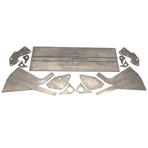 Jeep Cherokee DIY Mojave Front Bumper 86-01 Cherokee XJ Fortress 4x4 - 1014005-HDND