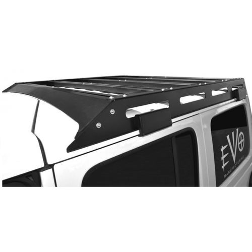 Jeep JL Unlimited Trail Roof Rack 18-Present Wrangler JL Unlimited Raw EVO Manufacturing - EVO-3038