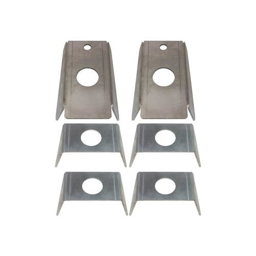 Jeep YJ Frame to Body Mount Brackets For 87-95 Jeep YJ Wrangler Rust Buster - RB2016