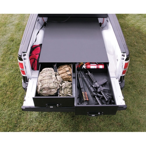 47.75 Inch W x 94.75 Inch L x 14 Inch H Heavy Duty Truck Bed Security Drawers Tuffy Security - 257-478908100-00250-01-BHRQ