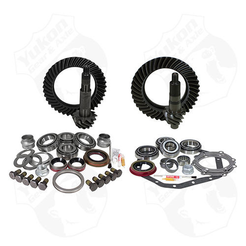 Yukon Gear And Install Kit Package For Reverse Rotation Dana 60 And 89-98 GM 14T 4.56 Thick Yukon Gear & Axle - YGK046