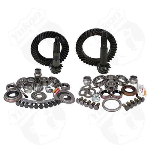 Yukon Gear And Install Kit Package For Jeep JK Non-Rubicon 4.11 Ratio Yukon Gear & Axle - YGK055