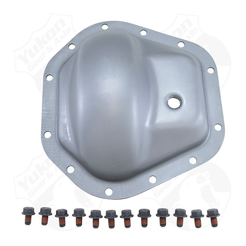 Steel Cover For Dana 60 Standard Rotation 02-08 GM Rear W/ 12 Bolt Cover Yukon Gear & Axle - YP C5-D60-SUP