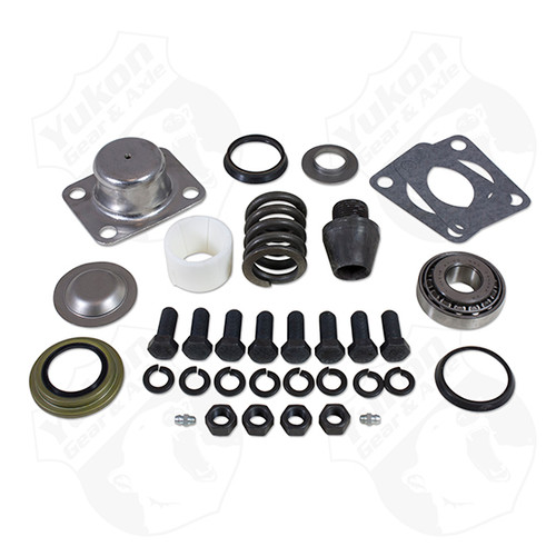 Replacement King-Pin Kit For Dana 601 Side Pin Bushing Seals Bearings Spring Cap Yukon Gear & Axle - YP KP-001