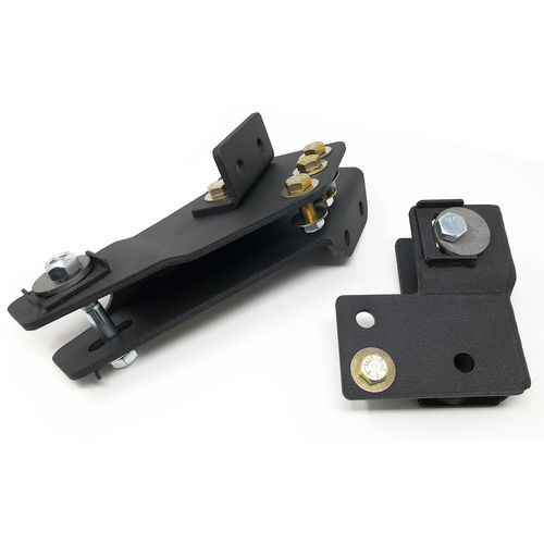 Axle Pivot Drop Brackets 80-96 Ford F150 4WD and Bronco 4WD W/4 Inch Front Lift Kit Tuff Country - 20844-BKFW