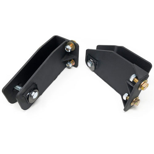 Axle Pivot Drop Brackets 97 Ford F250 4WD W/4 Inch Front Lift Kit and 5 Bolt Mounting Tuff Country - 20855-BKFW