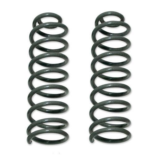 Coil Springs 92-98 Jeep Grand Cherokee Front 3.5 Inch Lift Over Stock Height Pair Tuff Country - 43905-BKFW